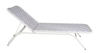 Bain de soleil Yard / Sangles élastiques - Emu blanc,gris en tissu