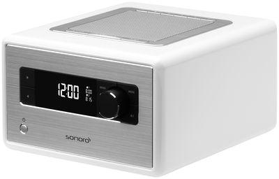 radio r veil sonororadio bluetooth blanc sonoro. Black Bedroom Furniture Sets. Home Design Ideas
