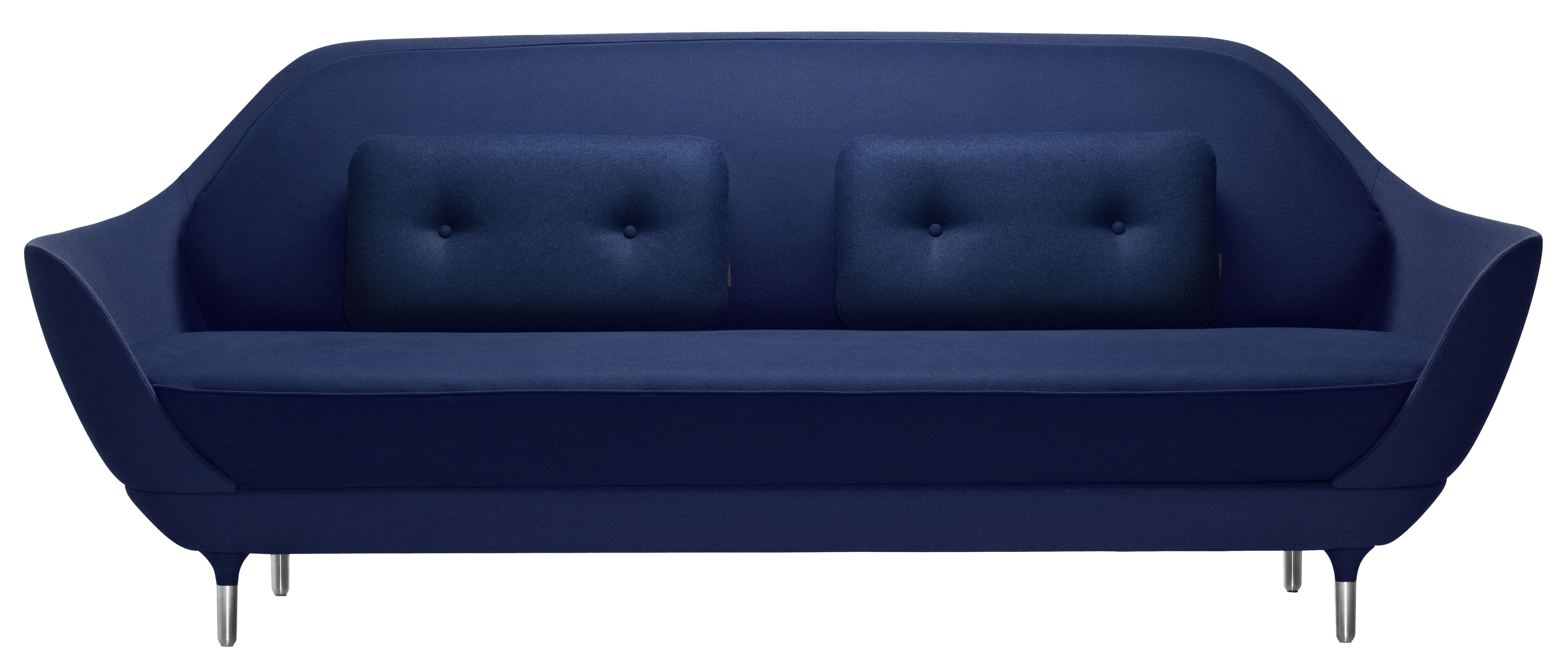 Scopri divano destro favn l 221 cm blu scuro di fritz - Divano 250 cm ...