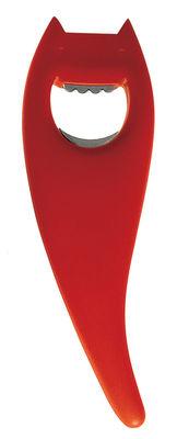 Image of Apribottiglia Diabolix / Edizione speciale (RED) - A di Alessi - Rosso - Materiale plastico