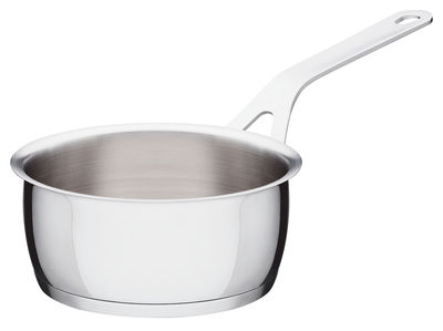 Kitchenware - Pots & Pans - Pots and Pans Saucepan by A di Alessi - Ø 14 cm - Stainless steel