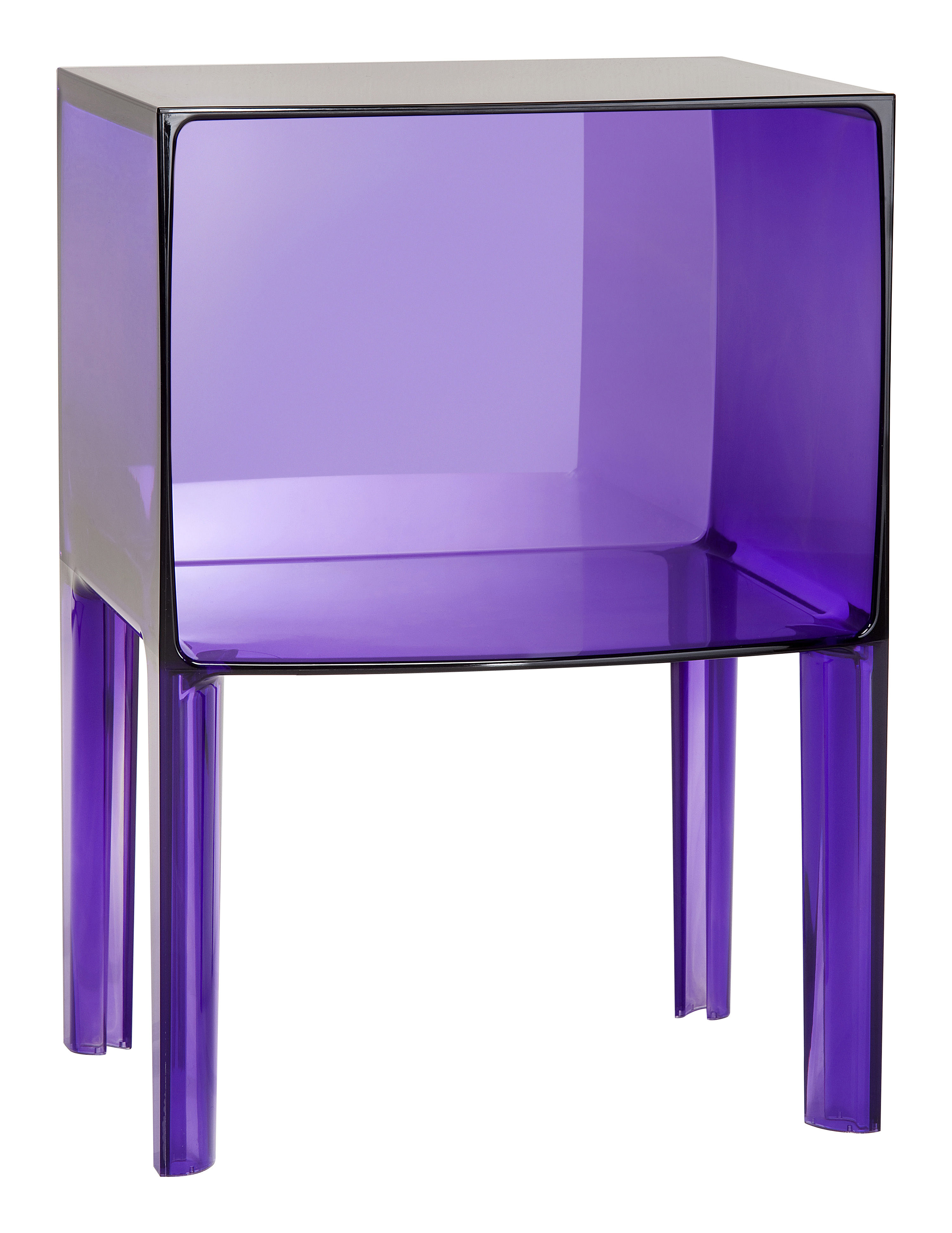table de chevet small ghost buster violet kartell. Black Bedroom Furniture Sets. Home Design Ideas