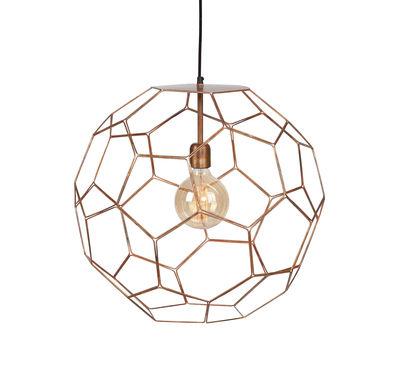 Luminaire - Suspensions - Suspension Marrakech Small / Ø 35 cm - Métal - It's about Romi - Ø 35 cm / Cuivre - Fer