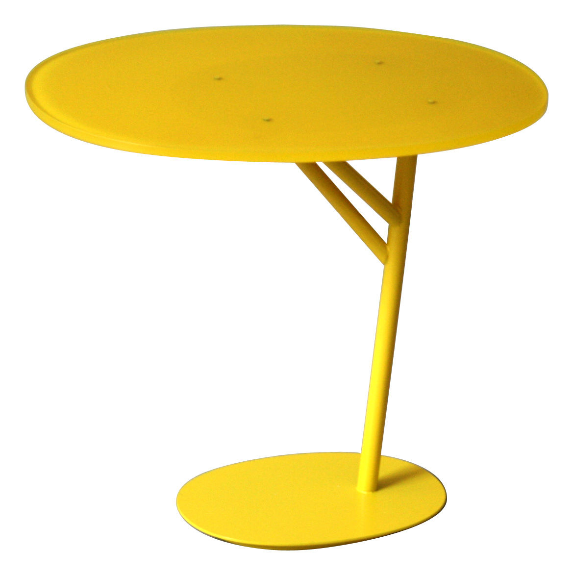 Table basse branch jaune coro for Table exterieur jaune