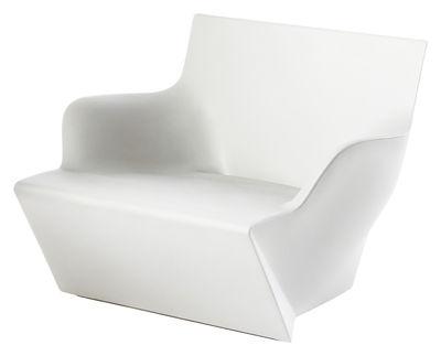Poltrona Kami San di Slide - Bianco - Materiale plastico