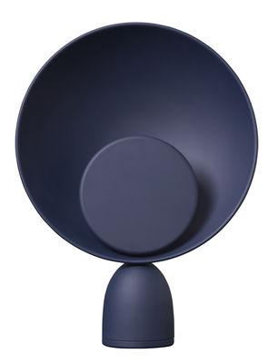 Foto Lampada da Tavolo Planet Lamp / LED - H 35 cm - PLEASE WAIT to be SEATED - Blu scuro - Metallo