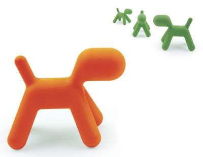 puppy large children 39 s chair orange l by magis collection. Black Bedroom Furniture Sets. Home Design Ideas