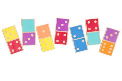 Déco - Pour les enfants - Jeu Dominos Géant Catalina / L 50 cm - Bois - Sunnylife - Domino - Pin peint