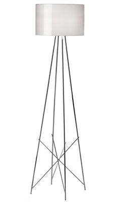 Ray F2 Stehleuchte - Flos - Hellgrau