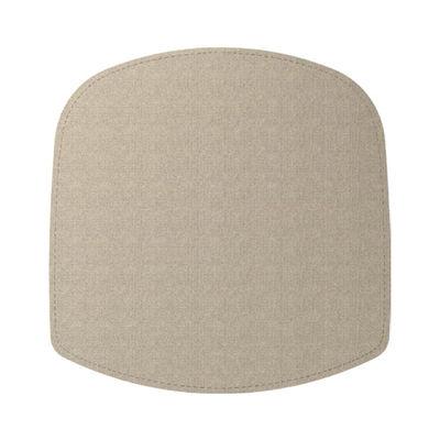 Cuscino di seduta / Per poltrona Wick - Feltro - Design House Stockholm - Beige - Tessuto