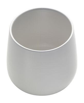 Tasse à thé Ovale - Alessi blanc en céramique