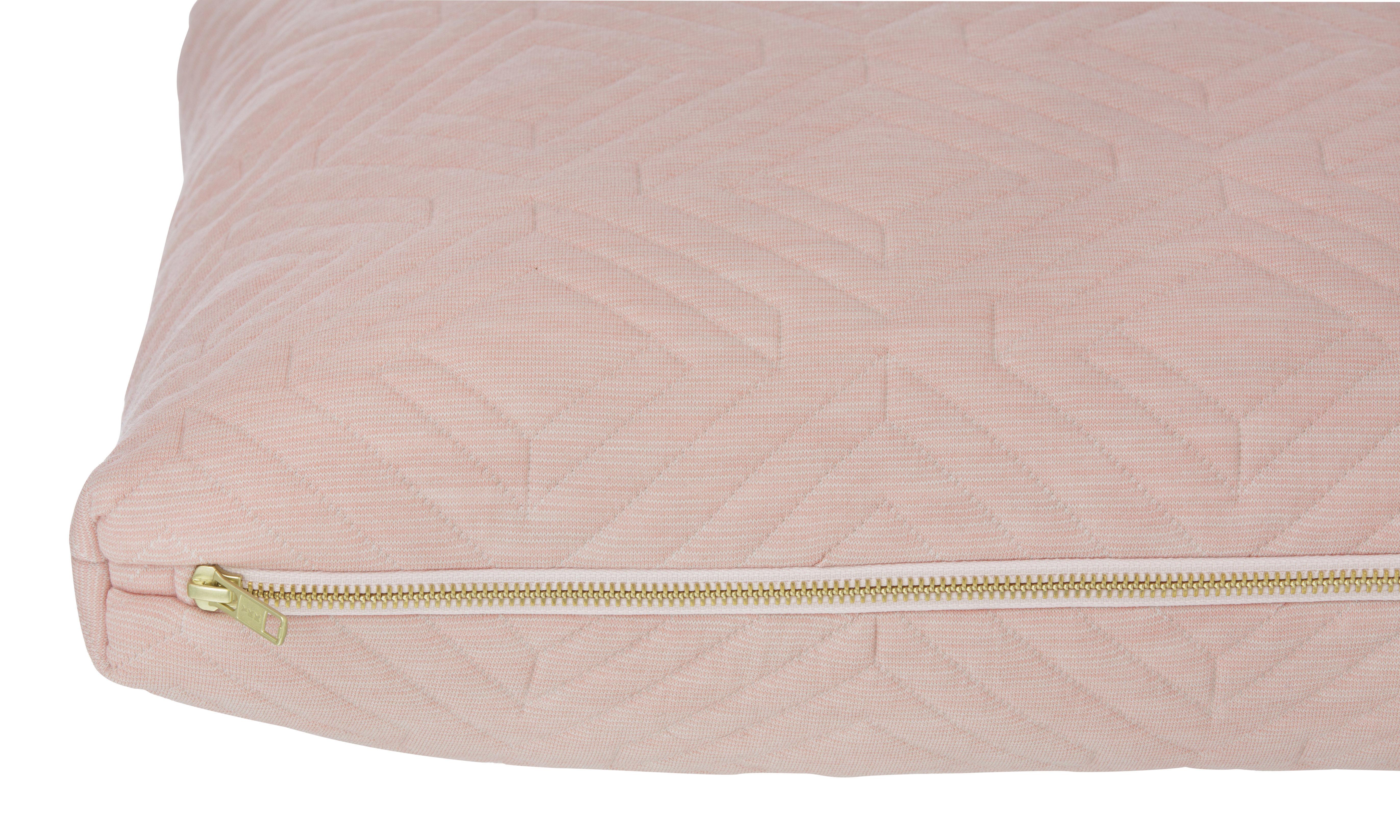 coussin quilt 60 x 40 cm rose p le ferm living. Black Bedroom Furniture Sets. Home Design Ideas