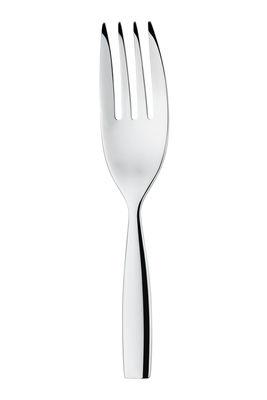 Fourchette de service Dressed L 25 cm Alessi métal brillant en métal