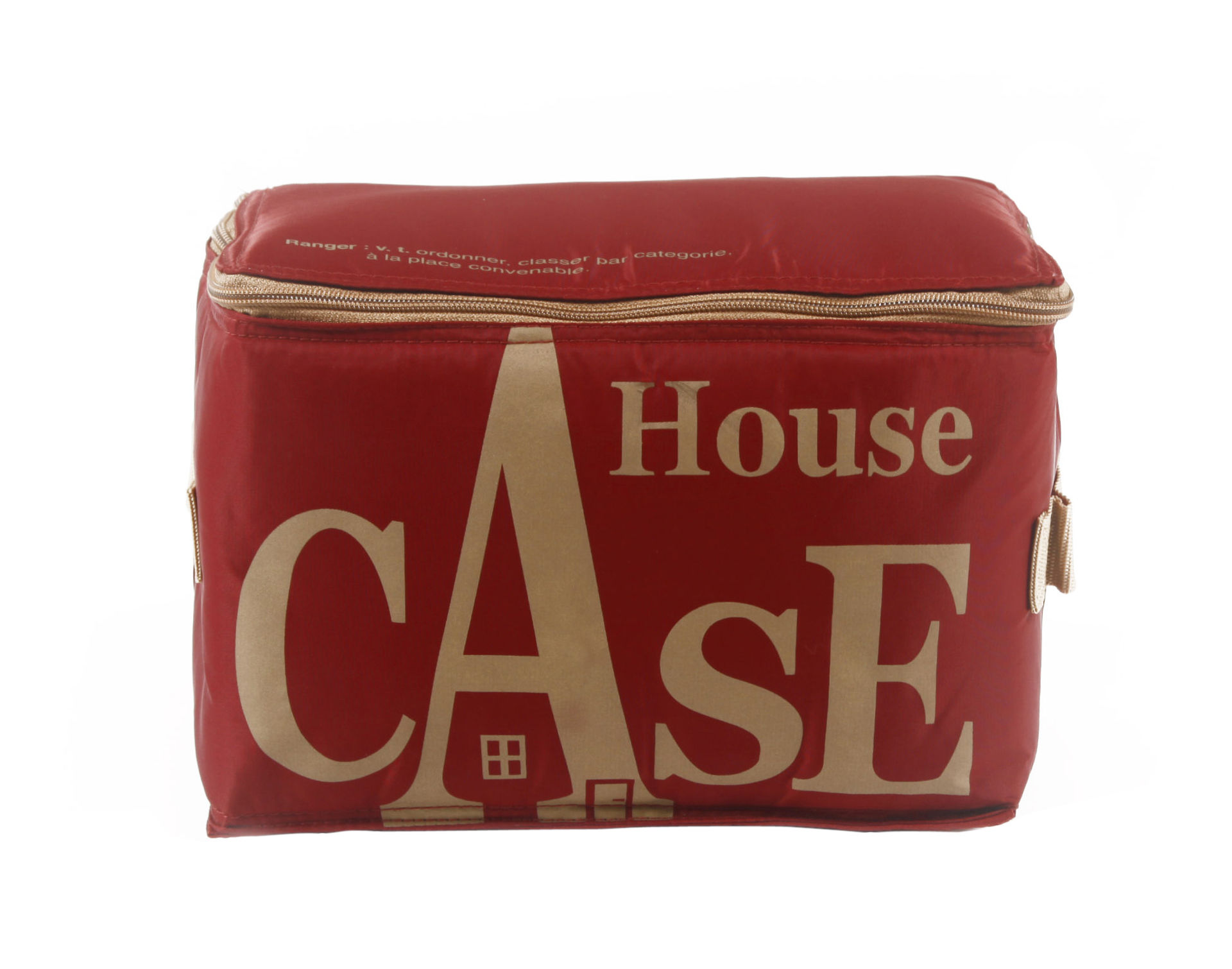 House Case Storage Red ginger by Bensimon