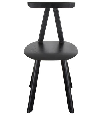 Chaise Juka / Chêne massif - ENOstudio noir en bois