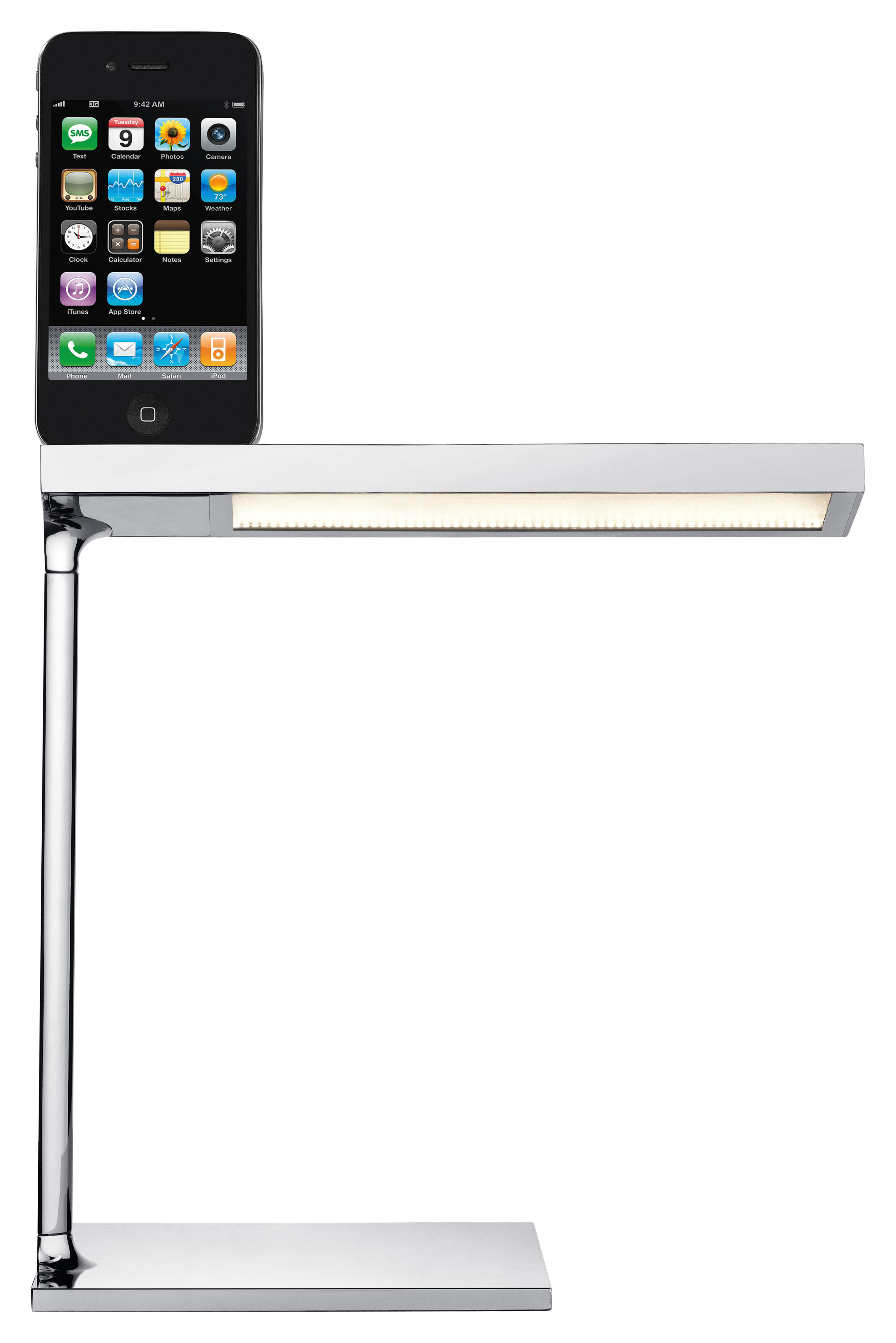 how to add a light to ipad