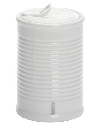 Boîte Estetico Quotidiano Small / Sucrier - Ø 7 x H 11 cm - Seletti blanc en céramique