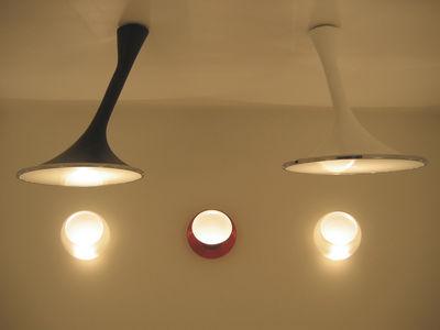 suspension noaxis noir fontana arte made in design. Black Bedroom Furniture Sets. Home Design Ideas