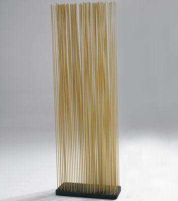 Mobilier - Paravents, séparations - Paravent Sticks / L 60 x H 210 cm - Intérieur & extérieur - Extremis - Naturel - Caoutchouc, Fibre de verre renforcée