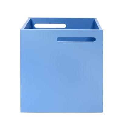 Mobilier - Etagères & bibliothèques - Caisson / Pour bibliothèque Rotterdam - POP UP HOME - Bleu clair - MDF peint