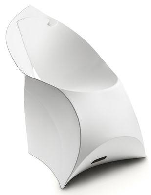 Foto Poltrona bambini Flux Chair - pieghevole di Flux - Bianco - Materiale plastico