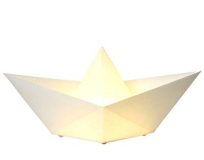 Illuminazione - Lampade da tavolo - Lampada da tavolo Saily di Skitsch - Bianco - Carta Nomex