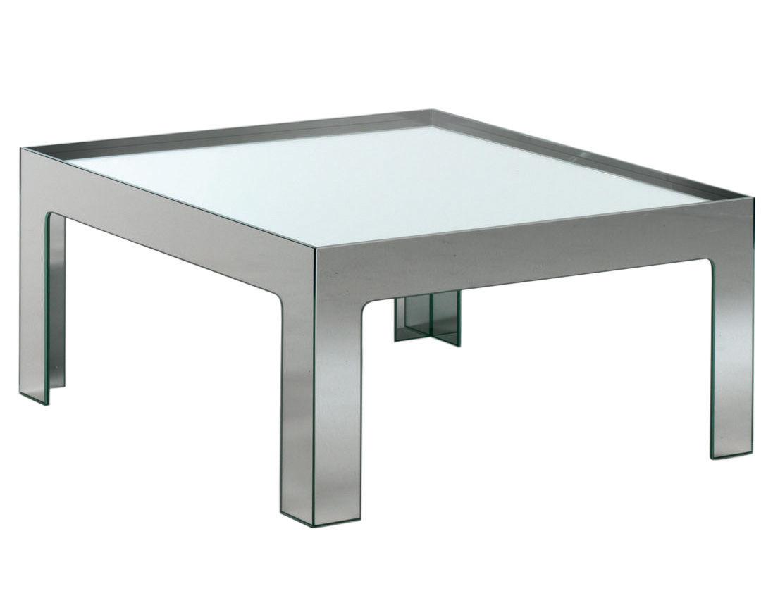 table basse mirror mirror 110 x 110 cm miroir glas italia. Black Bedroom Furniture Sets. Home Design Ideas