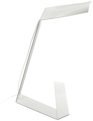 Lampe de table Elle / LED - Prandina blanc en métal