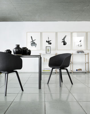sessel about a chair von hay bei. Black Bedroom Furniture Sets. Home Design Ideas