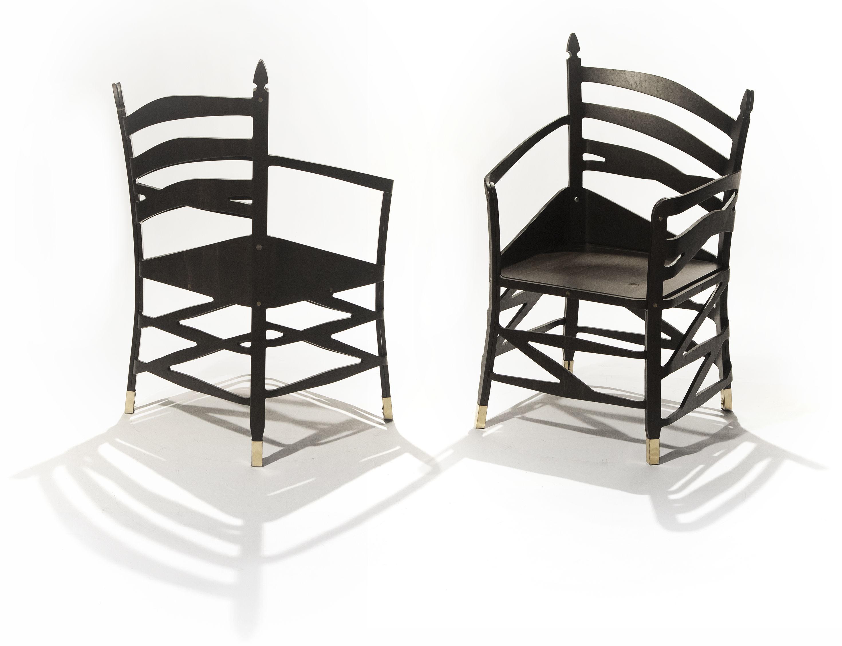 the hidden chairs shaker optische t uschung ibride. Black Bedroom Furniture Sets. Home Design Ideas