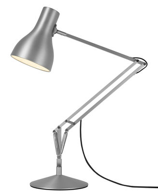 Image of Lampada da tavolo Type 75 di Anglepoise - Acciaio spazzolato - Metallo
