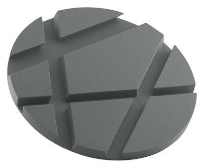 Dessous de plat SmartMat / Support Smartphones et tablettes - Eva Solo gris en matière plastique