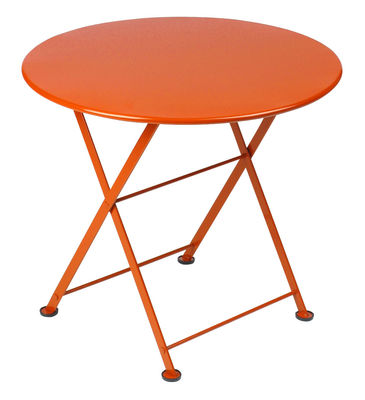 Tavolino Tom Pouce di Fermob - Carota - Metallo