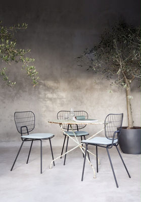 Furniture   Chairs And High Armchairs   WM String Chair   Steel By Menu    Black
