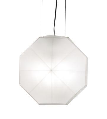 Luminaire - Suspensions - Suspension 24 Karati / Verre soufflé artisanal - H 28 cm - Karman - Blanc laiteux - Verre soufflé bouche