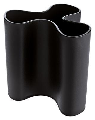 Vase Clara H 11 cm - Koziol noir en matière plastique