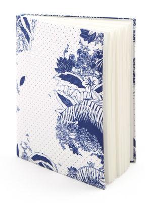 Accessoires - Bloc-notes, cahiers et stylos - Carnet Moogli / Couverture coton - Hartô - Bleu Marine - Coton, Papier