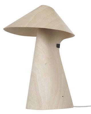 kino wood table lamp natural wood by linadura. Black Bedroom Furniture Sets. Home Design Ideas