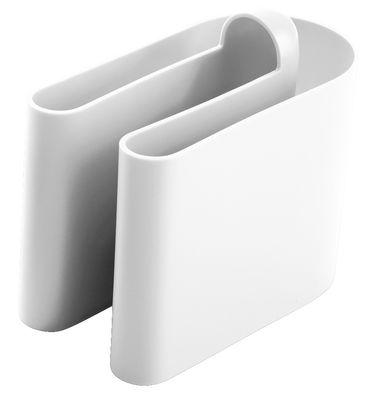 Porte-revues Buk - B-LINE blanc en matière plastique