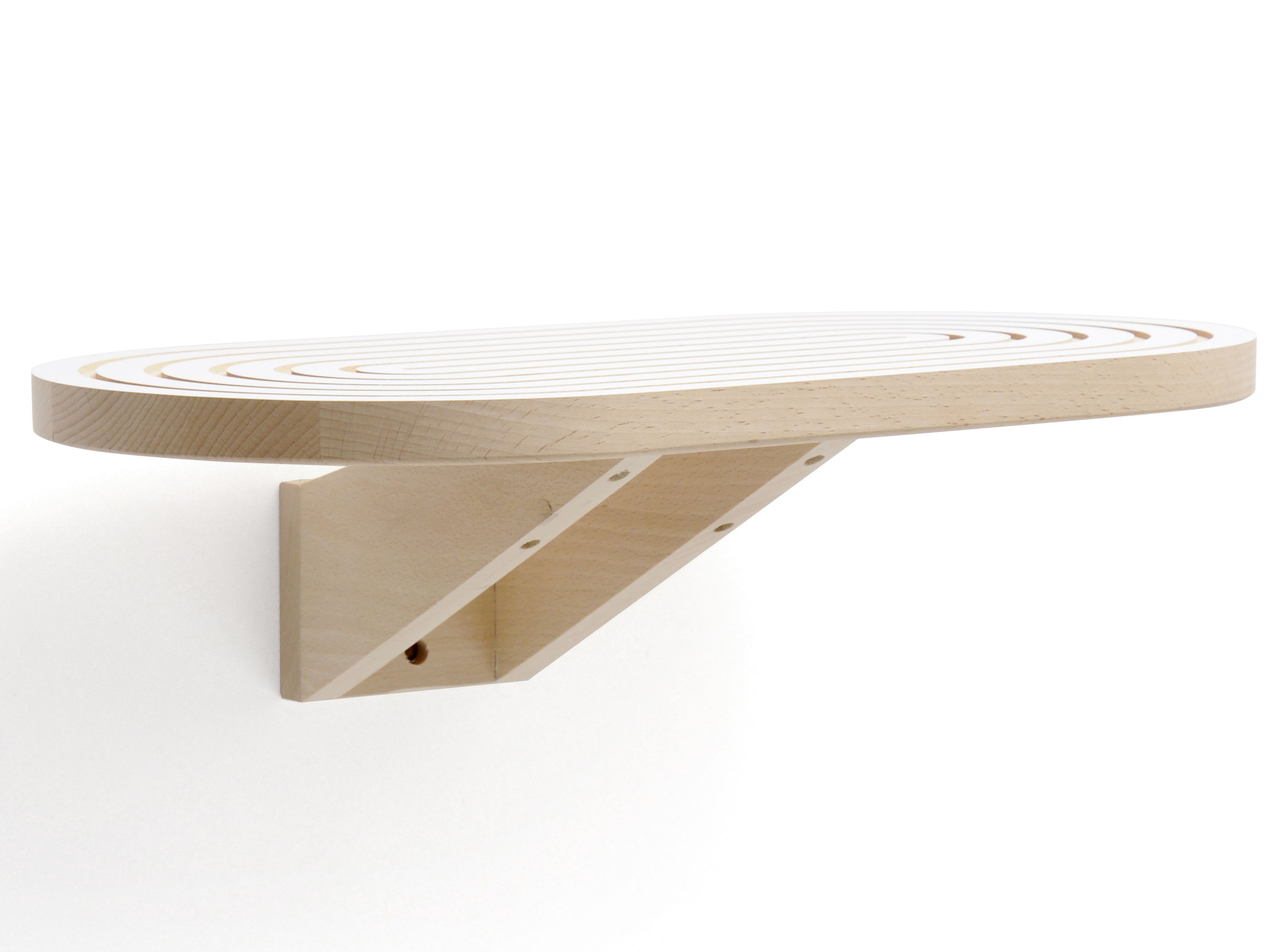 etag re marquise ovale 46 x 25 cm blanc bois naturel y 39 a pas le feu au lac. Black Bedroom Furniture Sets. Home Design Ideas