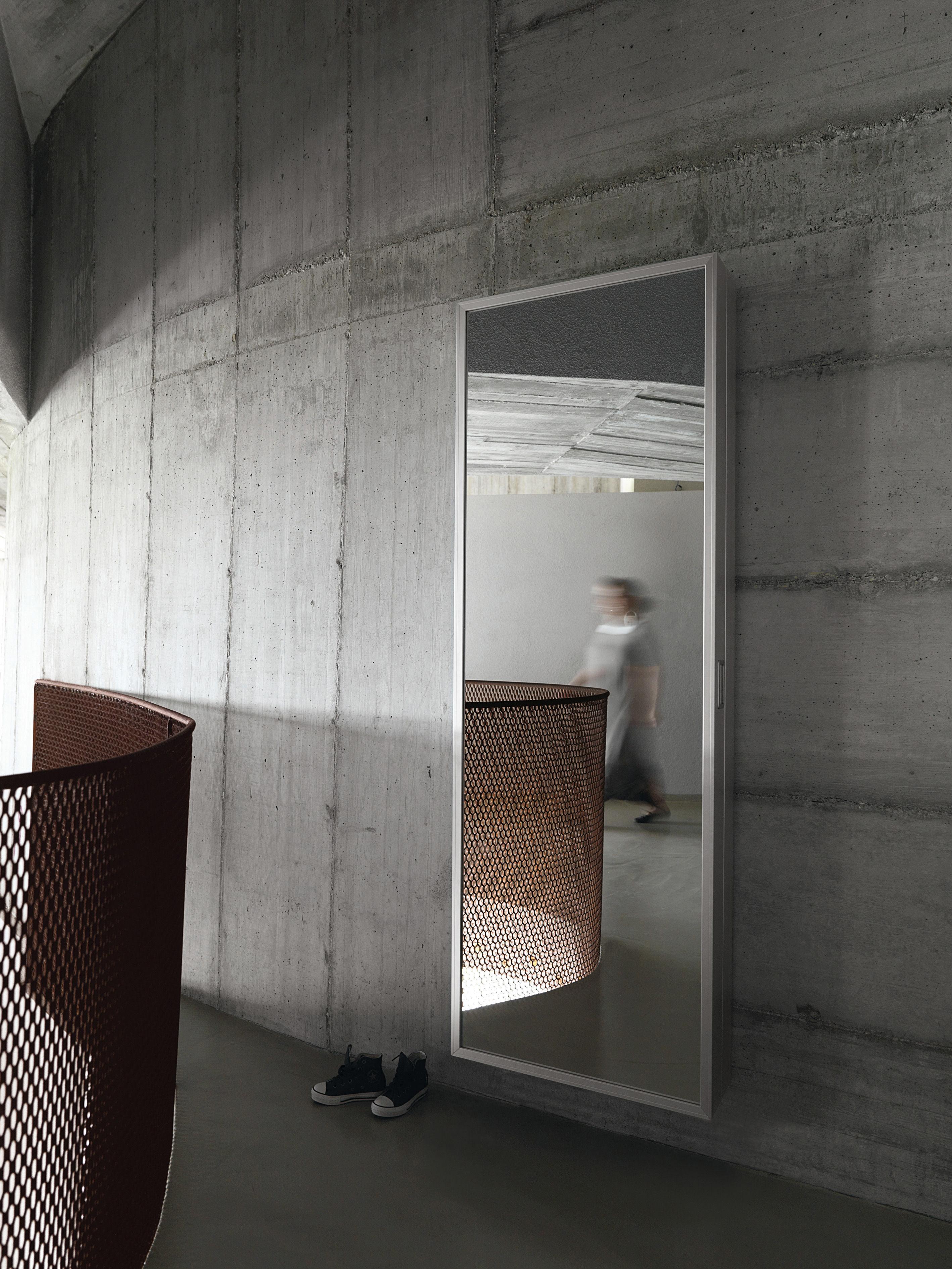 Scopri meuble chaussures foot box alluminio specchio - Alluminio lucidato a specchio ...