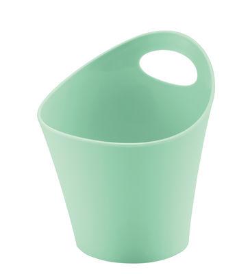 Pot Pottichelli XS / Ø 15 x H 9 cm - Koziol vert menthe en matière plastique