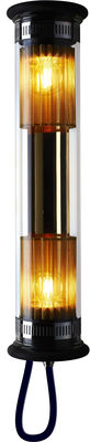 Luminaire - Appliques - Applique In The Tube 100-500 / L 52 cm - DCW éditions - Or - Acier inoxydable, Laiton, Verre borosilicaté