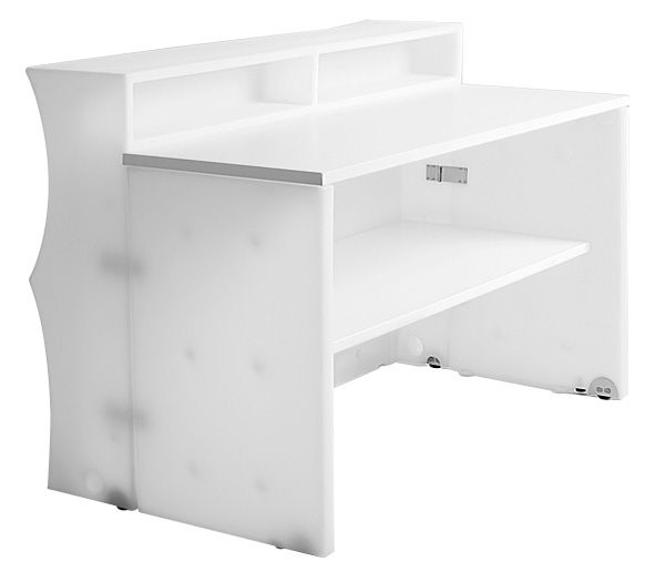bar baraonda avec plan de travail tag re bar blanc myyour. Black Bedroom Furniture Sets. Home Design Ideas