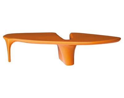 table basse waterfall 216 x 60 cm orange driade. Black Bedroom Furniture Sets. Home Design Ideas