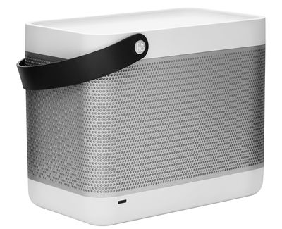 enceinte portable beolit 12 airplay blanc anse noire b o play by bang olufsen. Black Bedroom Furniture Sets. Home Design Ideas