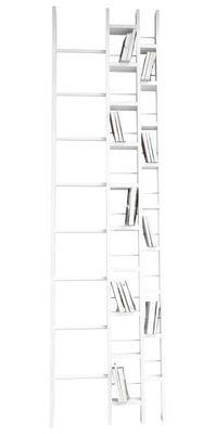 Bibliothèque Hô / L 64 x H 240 cm - La Corbeille blanc en bois
