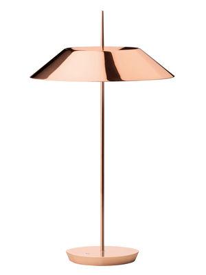 Lampe de table Mayfair LED / H 52 cm - Vibia cuivre brillant en métal
