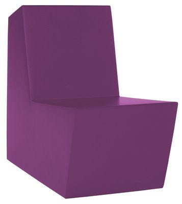 Fauteuil enfant Minus Primary Solo - Quinze & Milan violet en matière plastique
