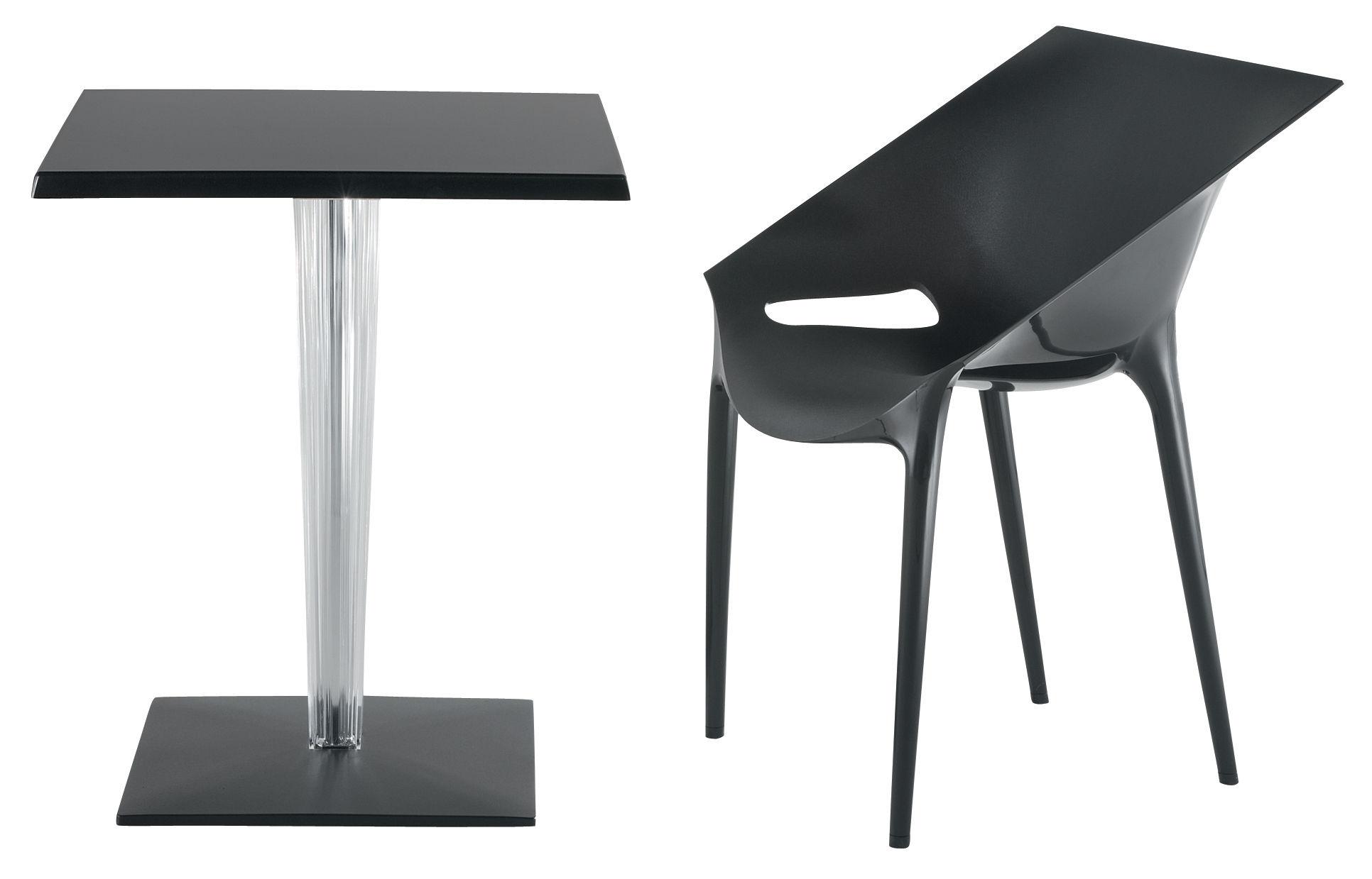 Table de jardin toptop dr yes 70x70 cm 70x 70 cm for Table 70x70 design